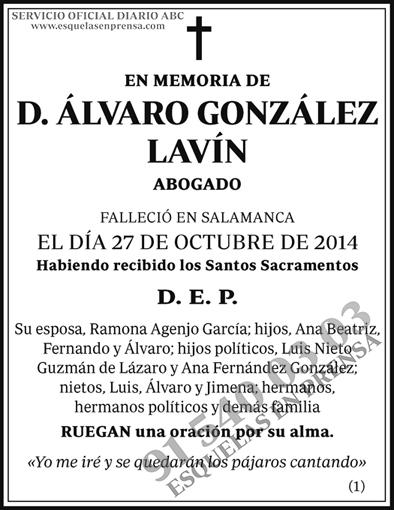 Álvaro González Lavín